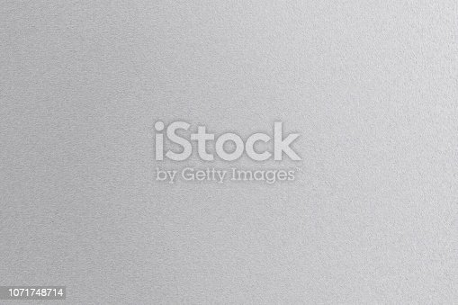 istock Texture of shiny white steel plate, abstract background 1071748714