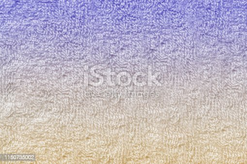 1151113068 istock photo Texture of soft tissue fibers. Close-up.Fluffy Gentle baby fabric with waves and folds. Soft pastel textile texture. Folds on the soft fabric. Rose towel terry cloth. 1150735002