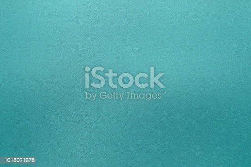 istock Texture of stains on green metal, abstract background 1018021678