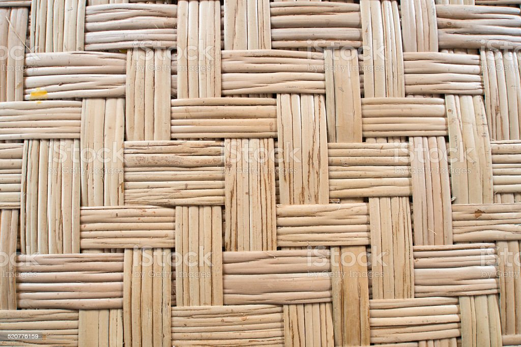 Texture of thai bamboo weave