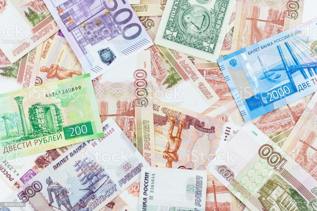 texture of the banknotes stock photo