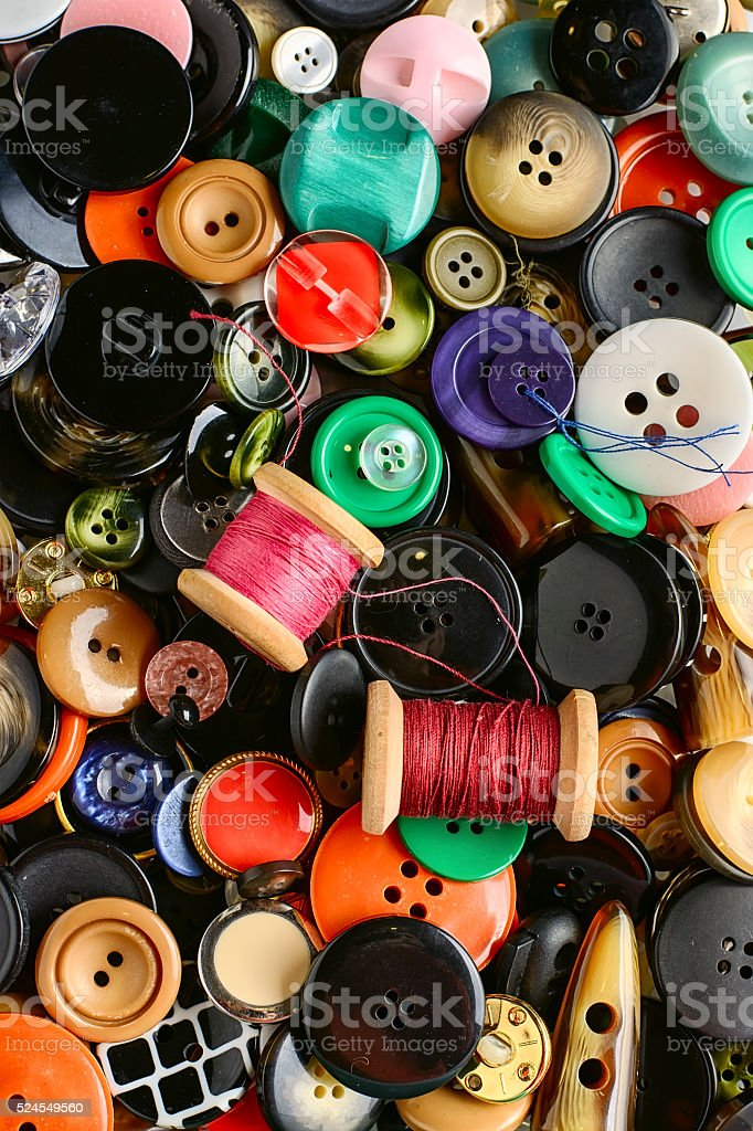 Texture of the buttons stock photo