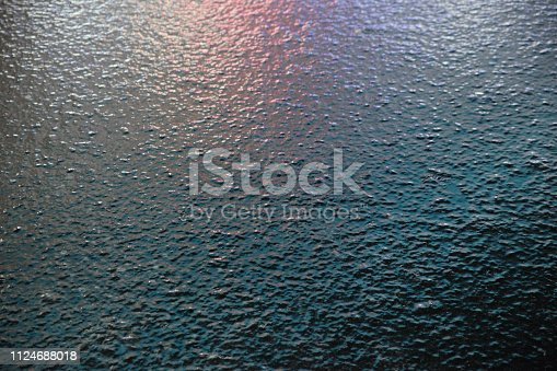 Texture of the icy background