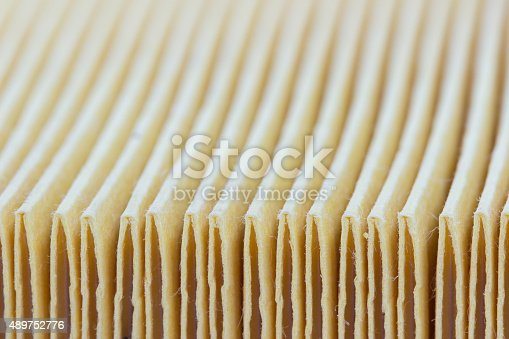 istock texture of the material of the air filter 489752776