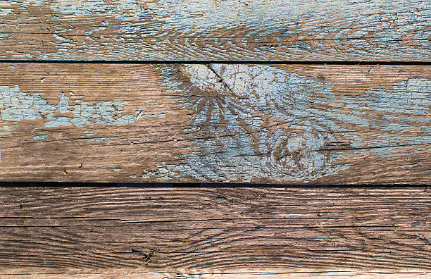 Texture of the old board close-up. stock photo