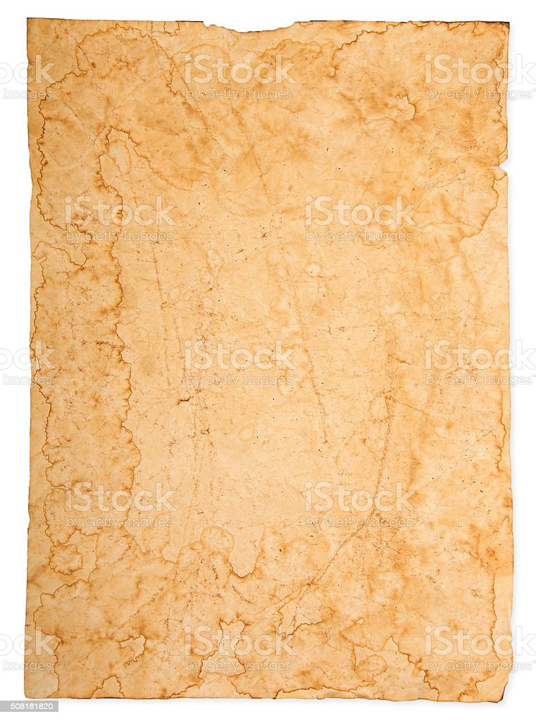 texture of the old brown paper stock photo