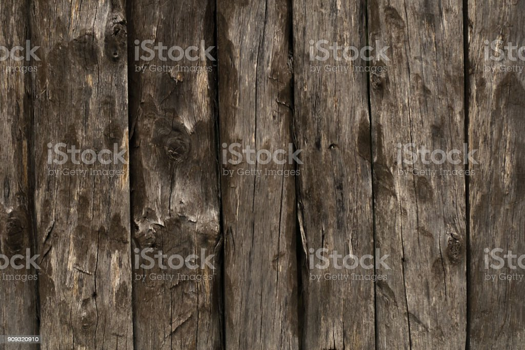 Texture of the old fence of wooden planks background royalty-free stock photo