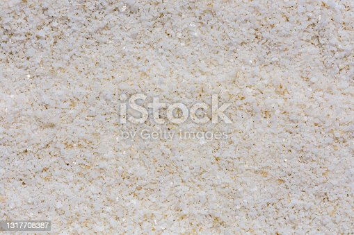 istock Texture of the sea salt for background. Natural pattern 1317708387