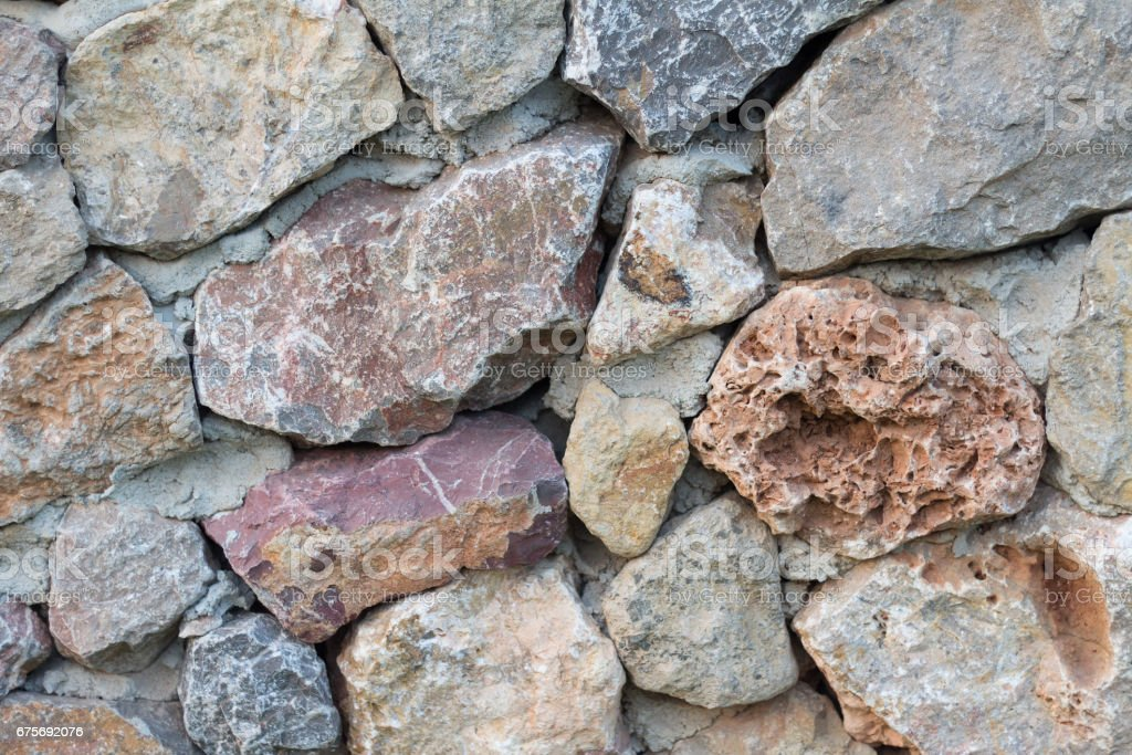 texture of the stone wall. Stone wall for background royalty-free stock photo