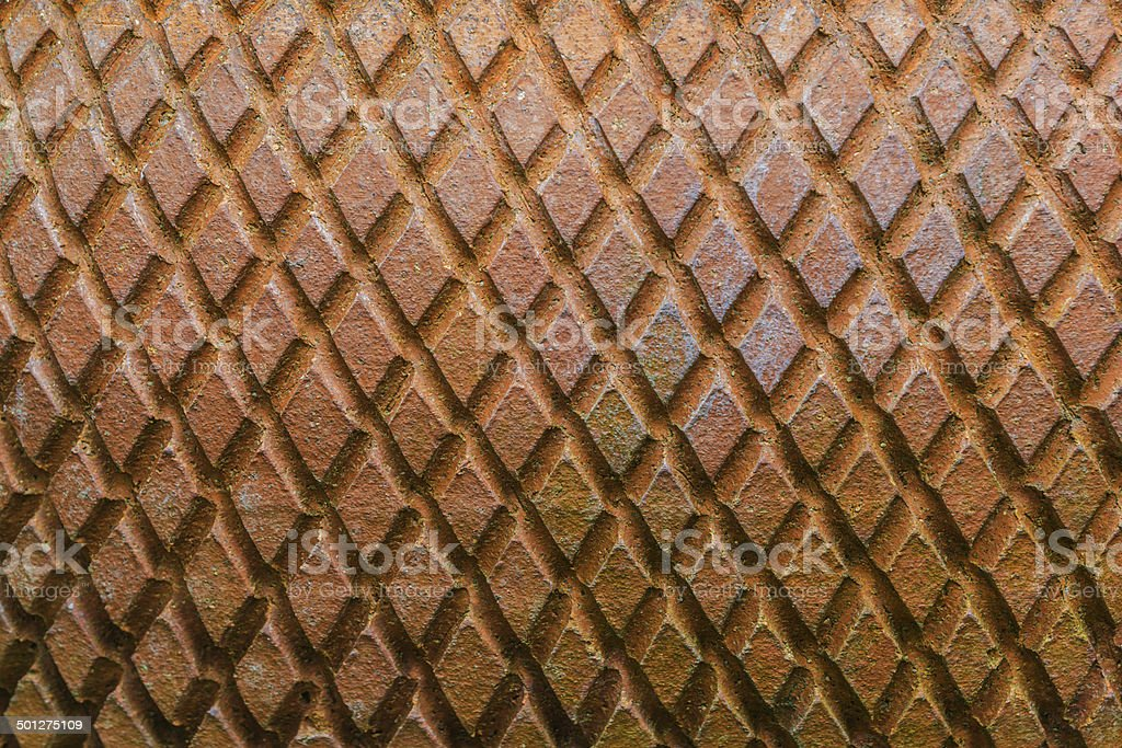 Texture of trapezoid form stock photo
