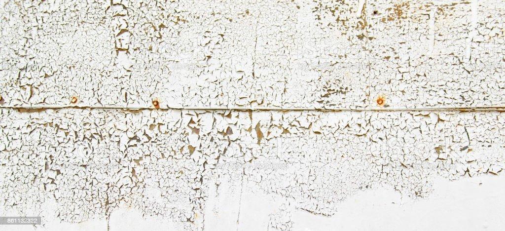 Photo De Stock De Texture De Fond Mur Vintage Fer Rouillé En Bleu Et