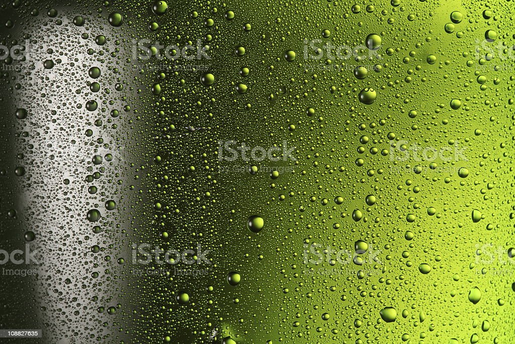 Texture of water drops. royalty-free stock photo