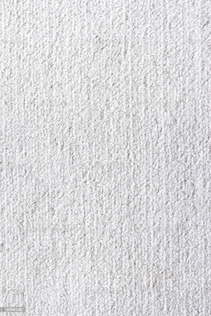 Texture of white carpet royalty-free stock photo