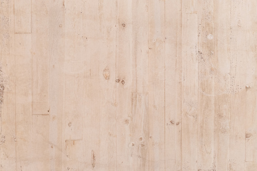 Texture of white concrete formworked by wooden boards, National