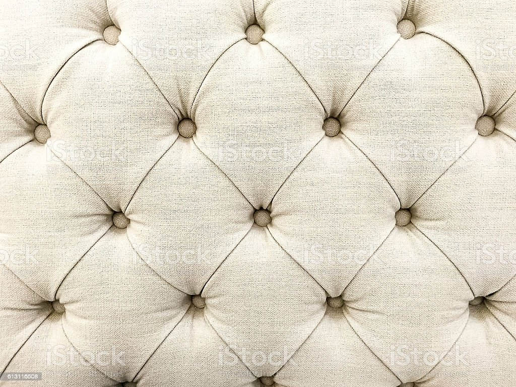 Texture Of White Fabric Sofa Royalty Free Stock Photo