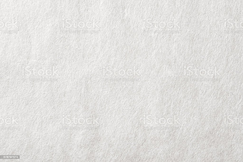 Texture of white Japanese paper Close-up stock photo