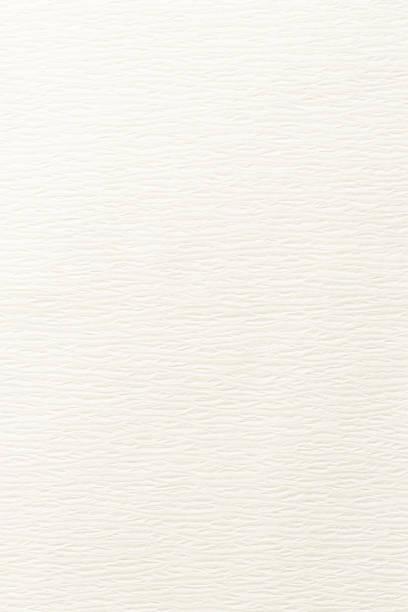 ホワイトペーパーテクスチャのクローズアップ - 和紙 ストックフォトと画像