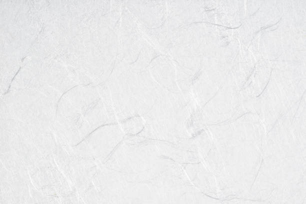 texture of white japanese paper close-up - japanese culture stock pictures, royalty-free photos & images