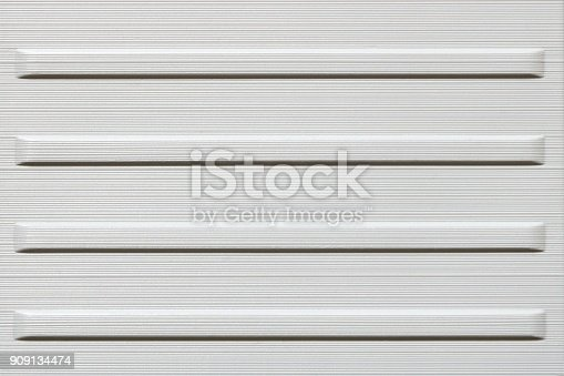 istock Texture of white metal or hard plastic, abstract background 909134474