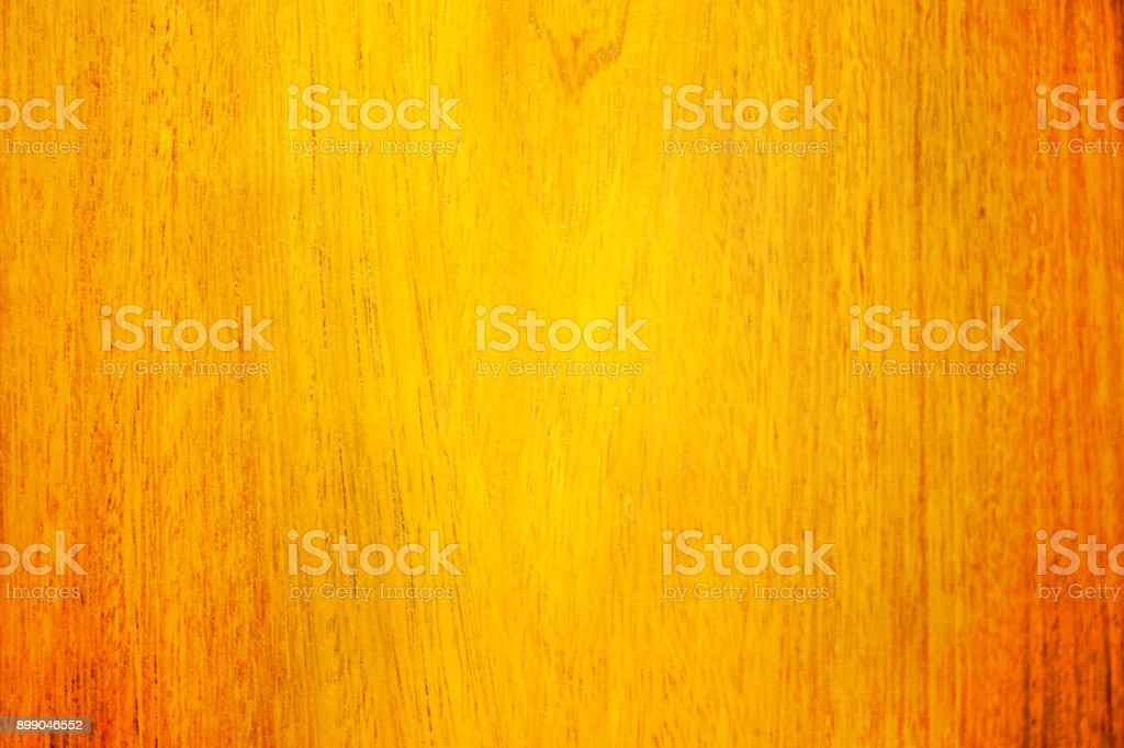 Texture of Wood Background with Natural Pattern in Yellow and Orange Colors stock photo