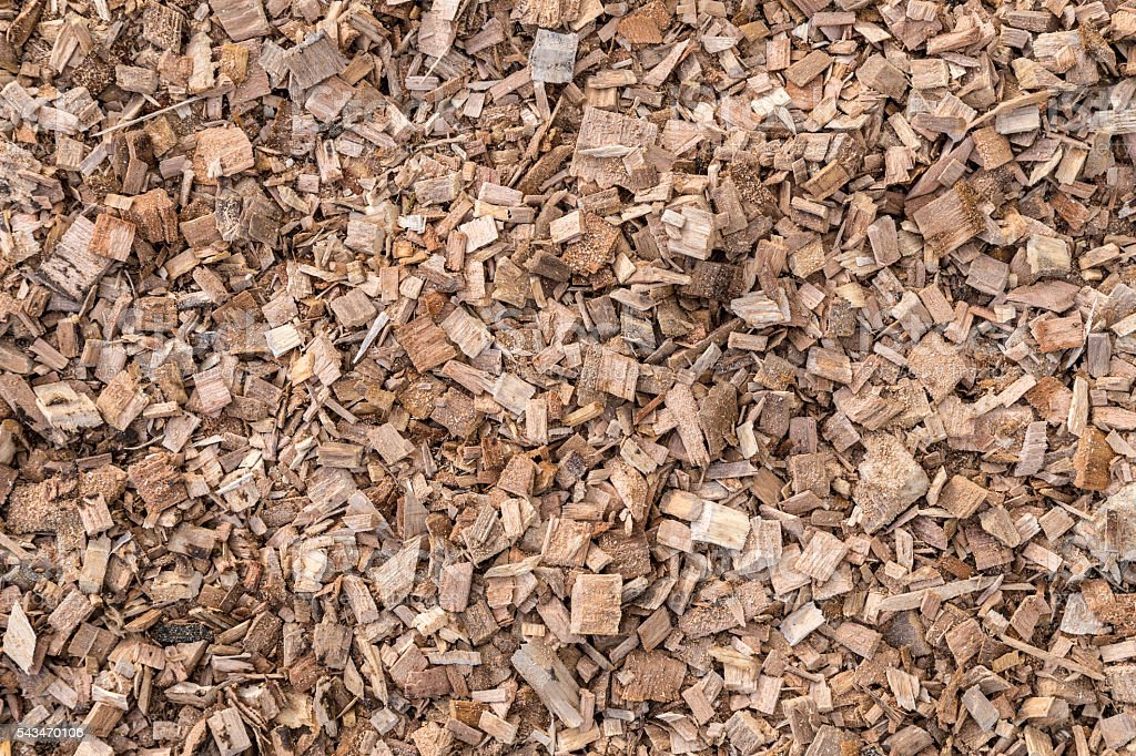 Texture of wood chips stock photo