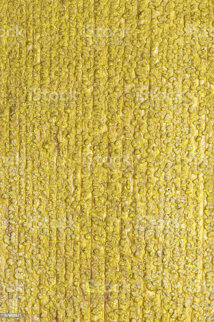 Texture of yellow wall royalty-free stock photo