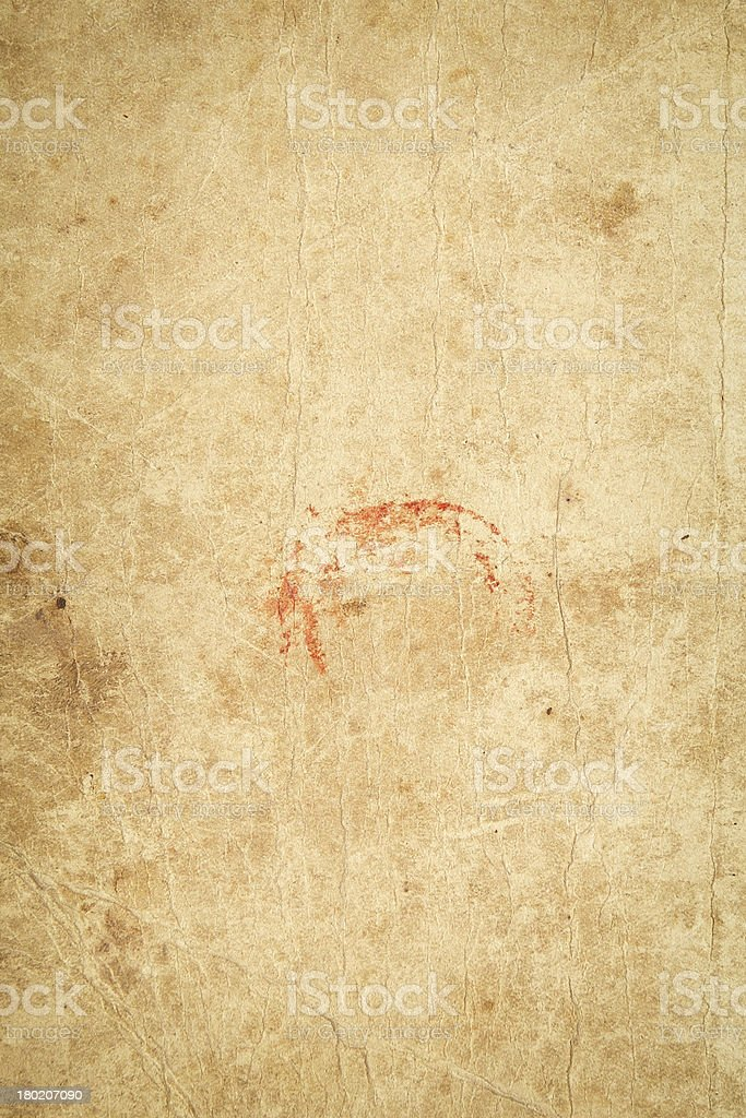 Texture - Old Book Cover royalty-free stock photo