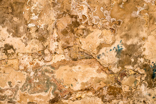 Texture - old weathered cement wall stock photo