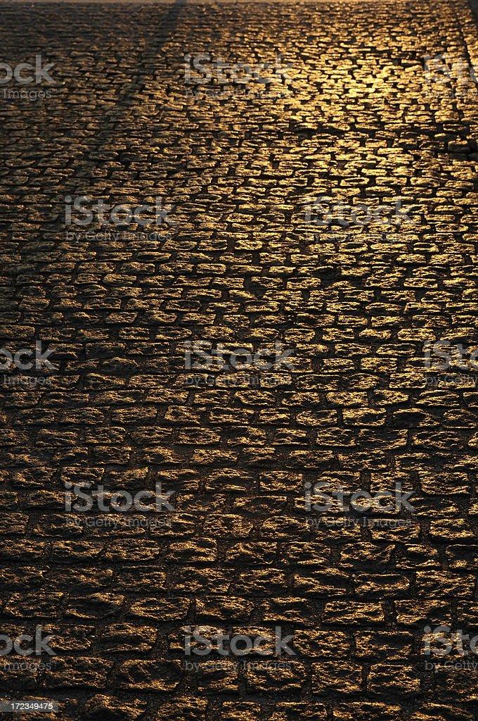 Textura en carretera foto de stock libre de derechos