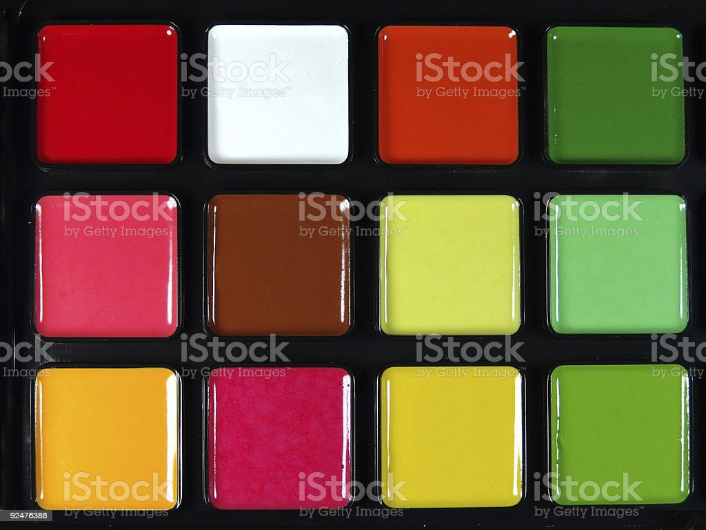 Texture, Paint  Palette royalty-free stock photo
