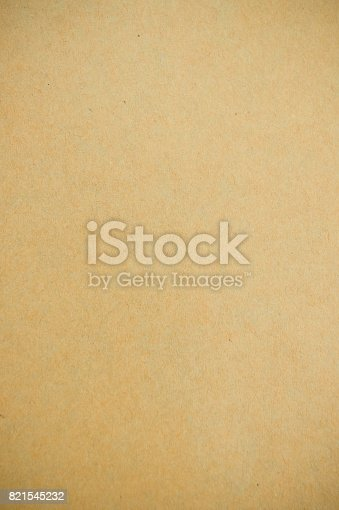 947207308istockphoto Texture paper color brown , Recycled paper background 821545232