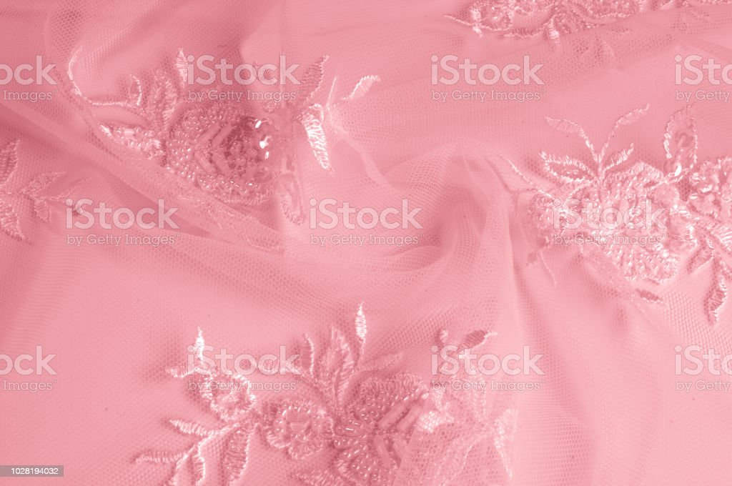 texture Tulle is white Growing in a bold floral design do not miss...