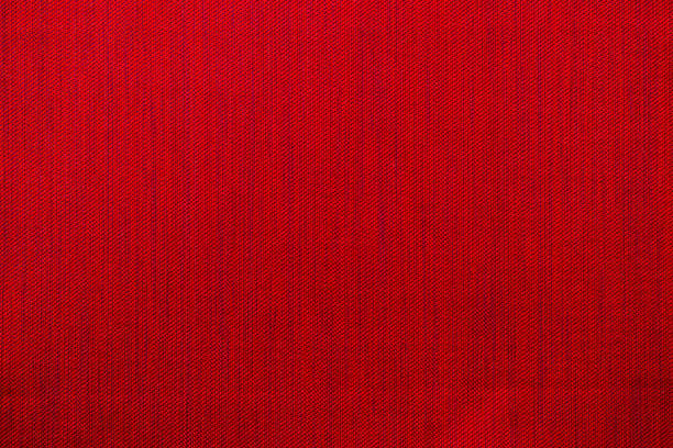 texture de tissu rouge - textile photos et images de collection