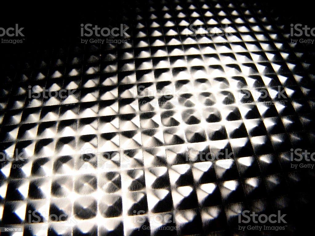 Texture, Reflective Metal royalty-free stock photo