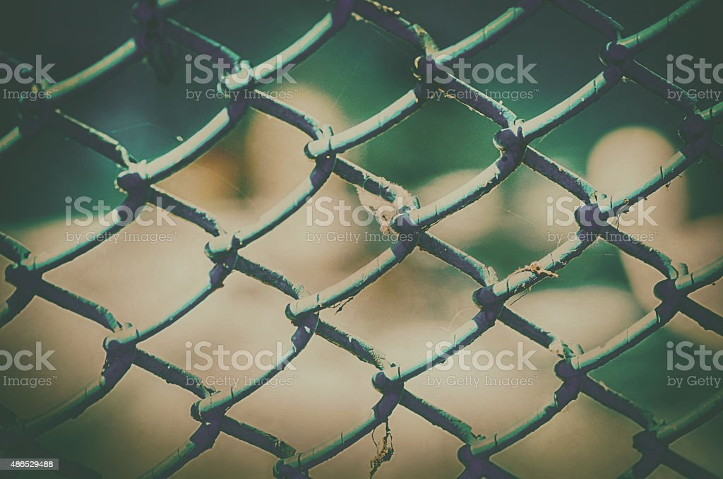 Texture roofing slate for iron mesh in vintage stock photo