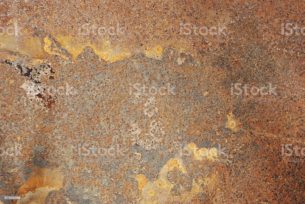 Texture rusted metal royalty-free stock photo