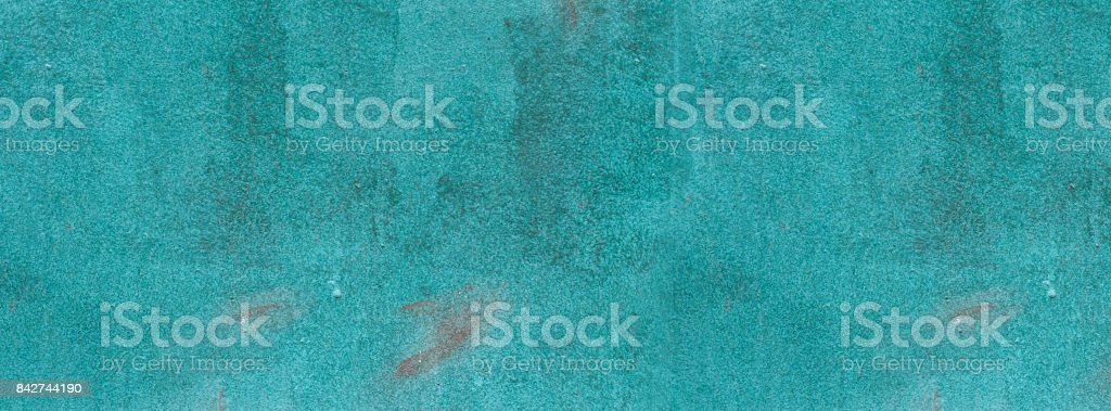 texture rusty old  painted scuba blue stock photo