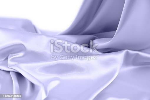 859441184istockphoto Texture satin fabric blue color for the background 1136081053