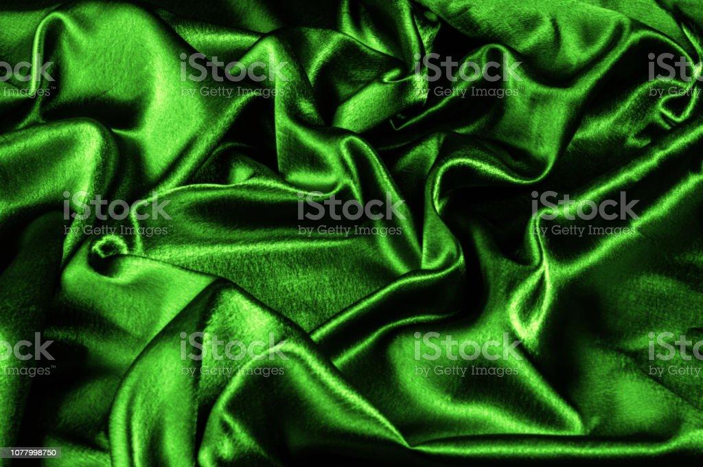 texture silk fabric is green metallic thread. metallic sheen. This...