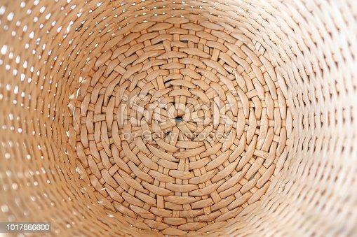 texture straw basket bottom natural background design
