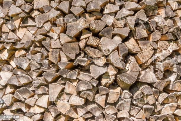 Drzewo Tekstur Wiele Drewnianych Kłód Do Oświetlenia Pieca Są Ułożone Tło - zdjęcia stockowe i więcej obrazów Abstrakcja