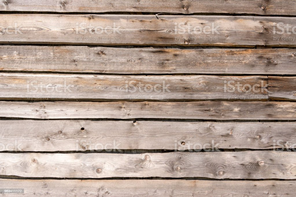 Texture tree. Wide wooden boards. The wall of the barn. background - Zbiór zdjęć royalty-free (Abstrakcja)