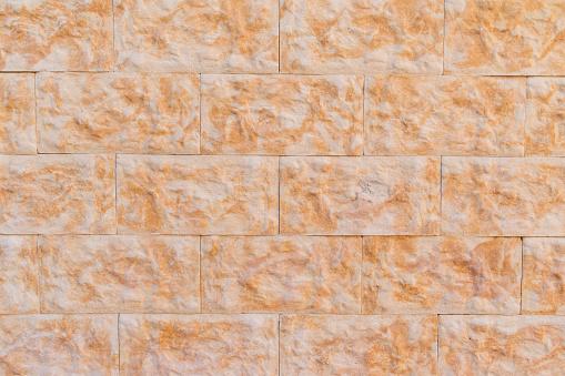 Texture wall of orange spots