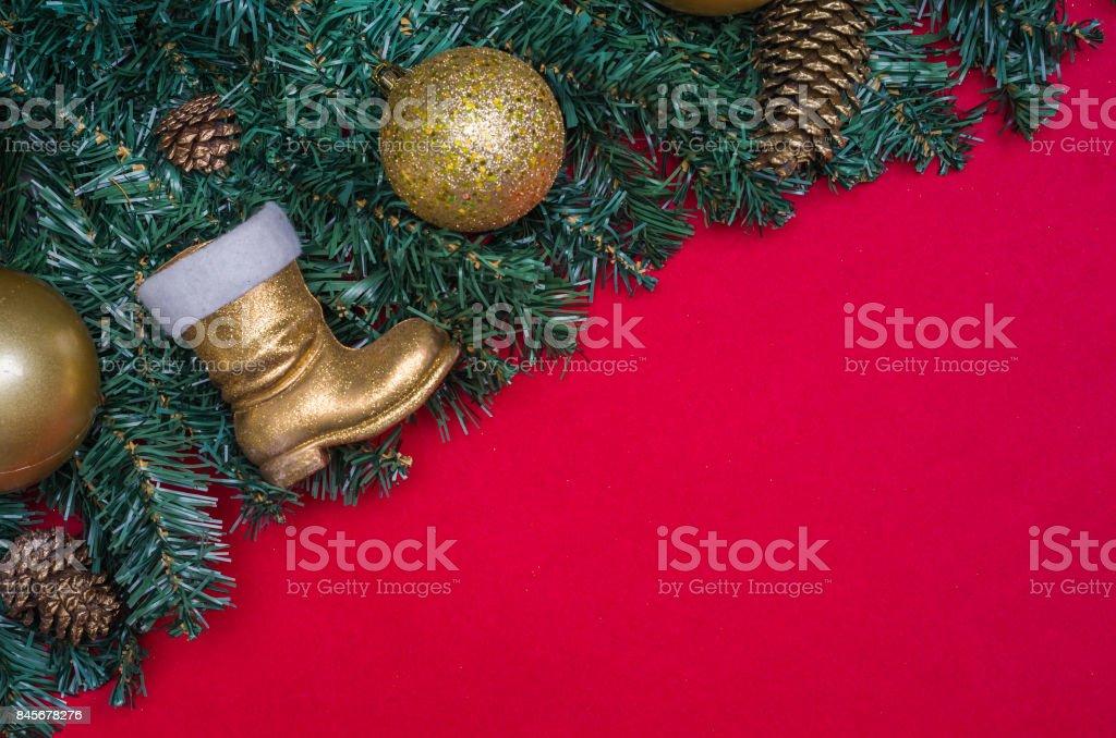 Texture with Christmas theme stock photo