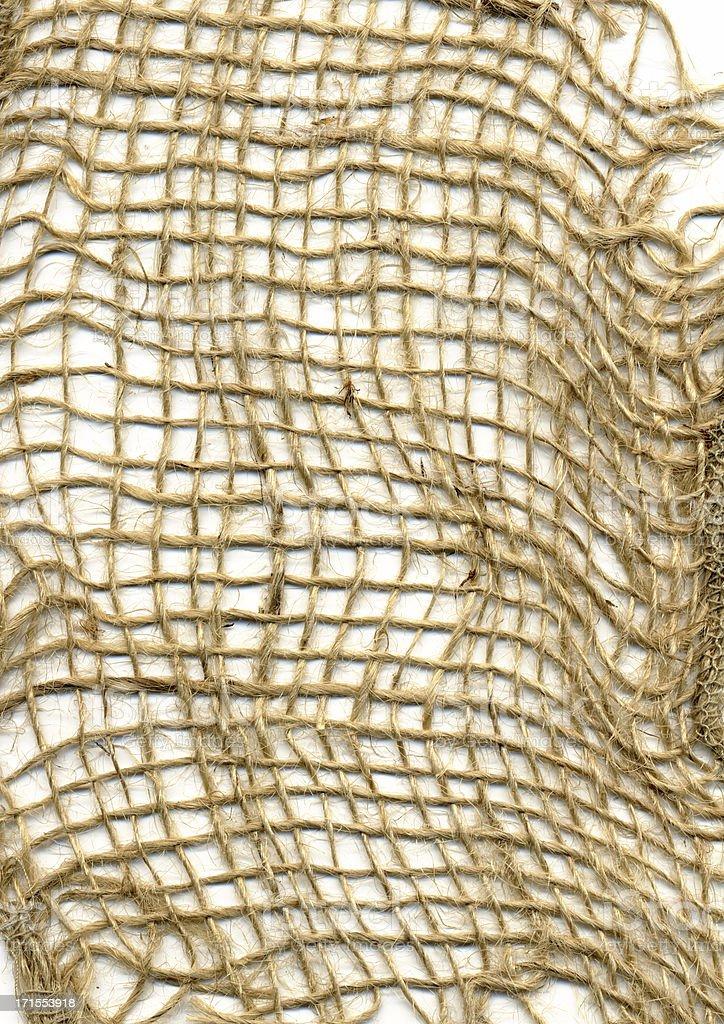 Texture-Burlap Mesh stock photo