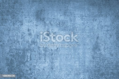 Faded Blue Grunge Background. More Blue Patterns: