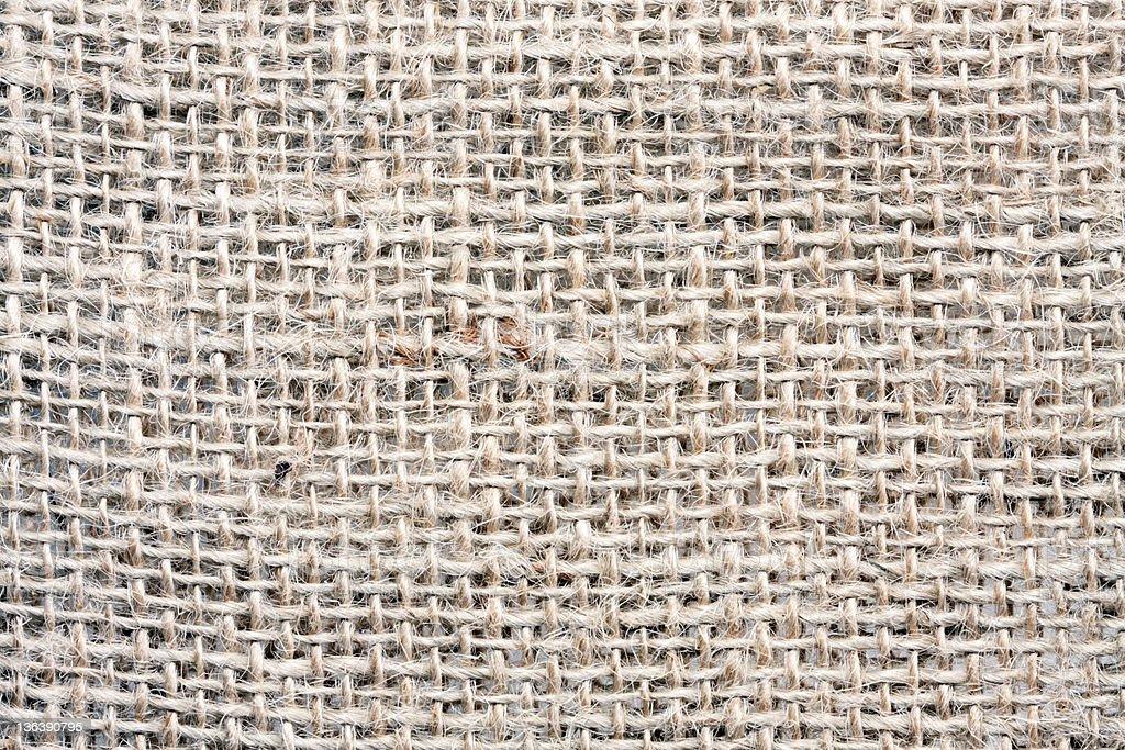 Textured background burlap cloth royalty-free stock photo