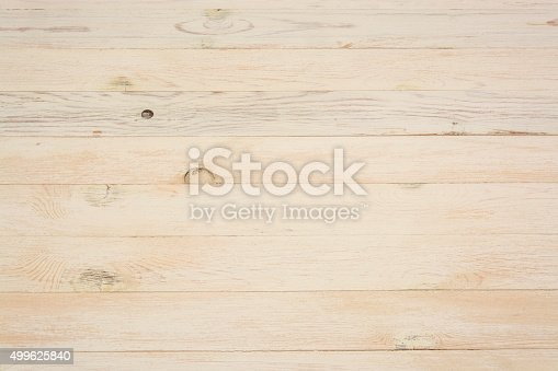 istock Textured background of light wooden boards 499625840