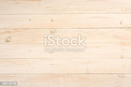 istock Textured background of light wooden boards 583736758