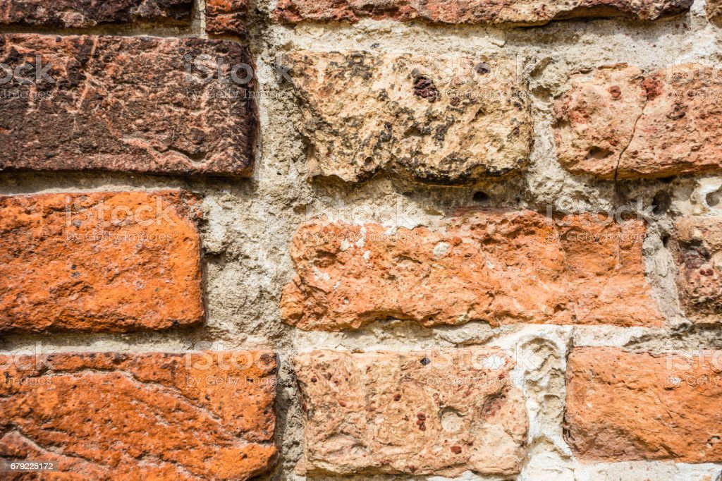 Textured background: old brick wal foto de stock royalty-free